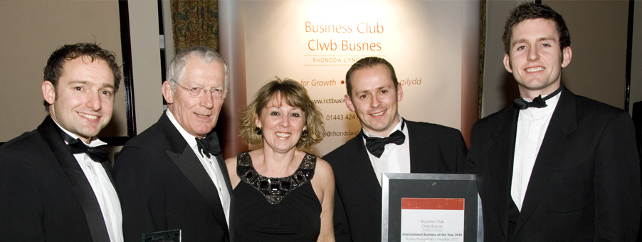Asbri Golf Wins International Business of the Year Award