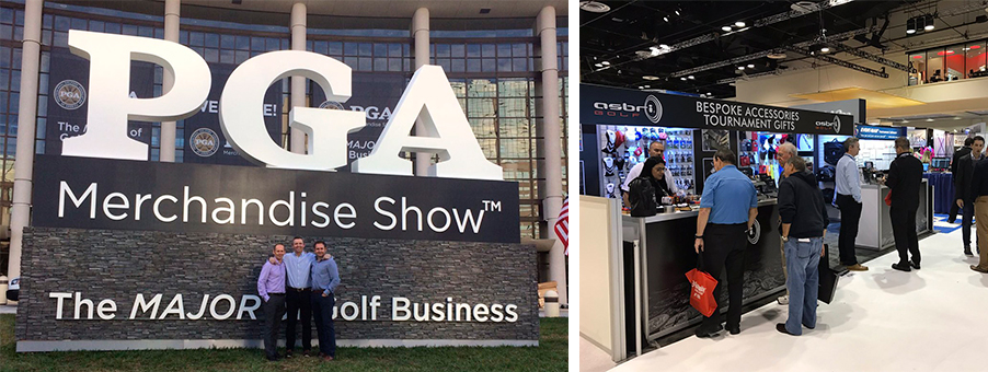 ASBRI GOLF SECURES RECORD SALES & DISTRIBUTION DEALS AT THE PGA SHOW