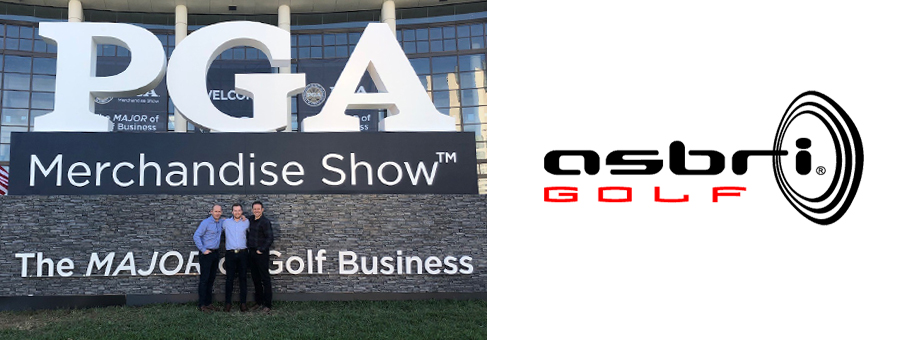 PGA MERCHANDISE GOLF TRADE SHOW CONTINUES TO SCORE SUCCESS FOR ASBRI